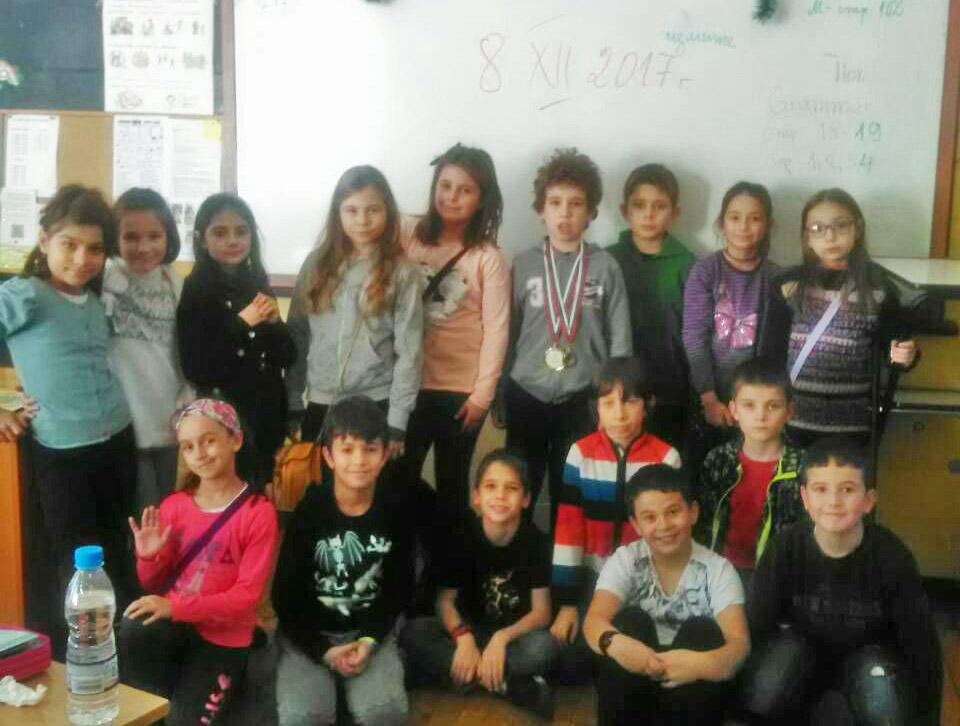 Златен медал по математика за наш ученик